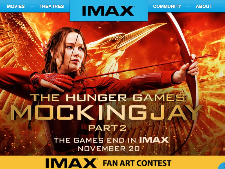 The Hunger Games: Mockingjay – Part 2: IMAX Fan Art Contest