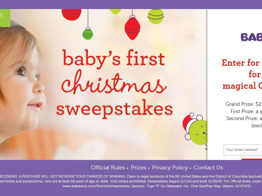 Babies r us sweepstakes