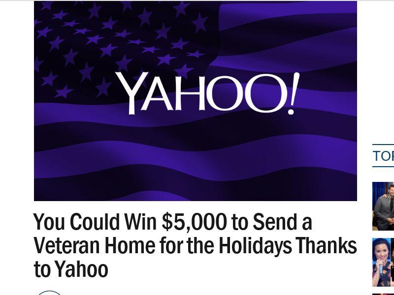 Ryan Seacrest's Veteran's Day $5,000 Sweepstakes