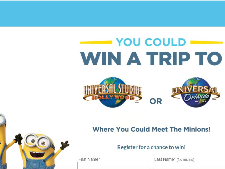 The Hostess Minions Sweepstakes