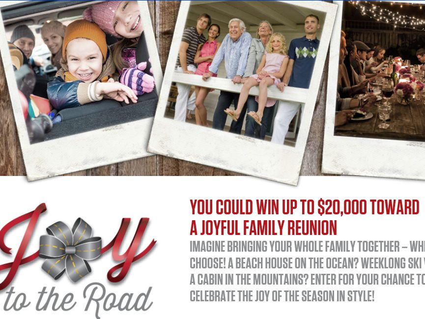 The Mopar Joy to the Road Sweepstakes