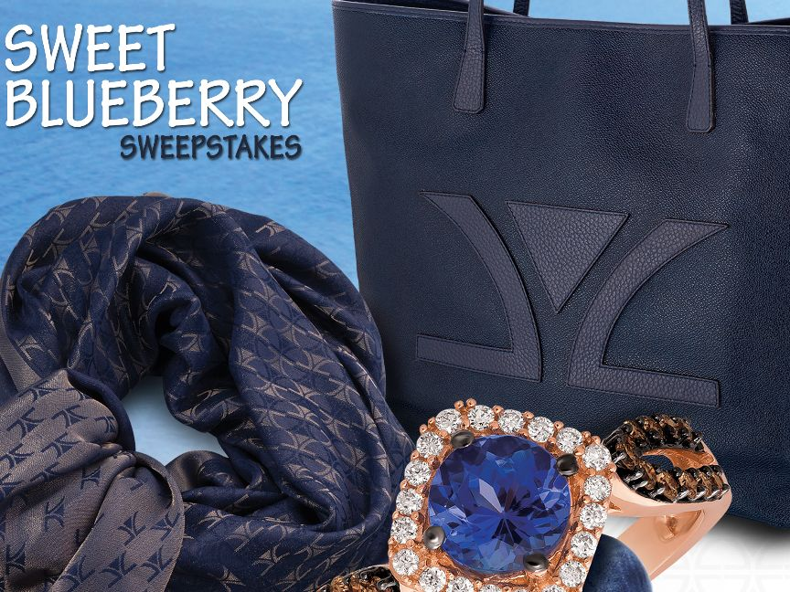 The Le Vian Sweet Blueberry Sweepstakes