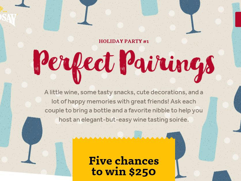 "The Lindsay ""Holiday Entertaining"" Sweepstakes"