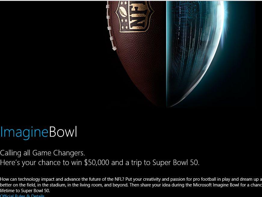 The Microsoft Imagine Bowl