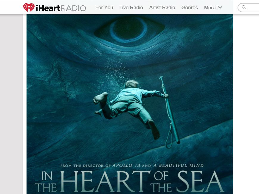 Warner Bros. In The Heart of the Sea Theater Sweepstakes
