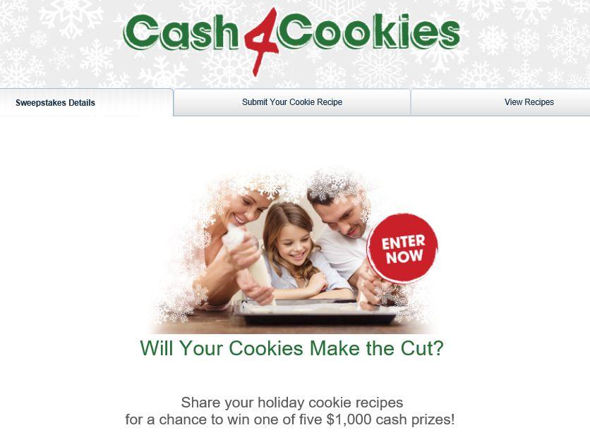 The Valpak Cash 4 Cookies Sweepstakes