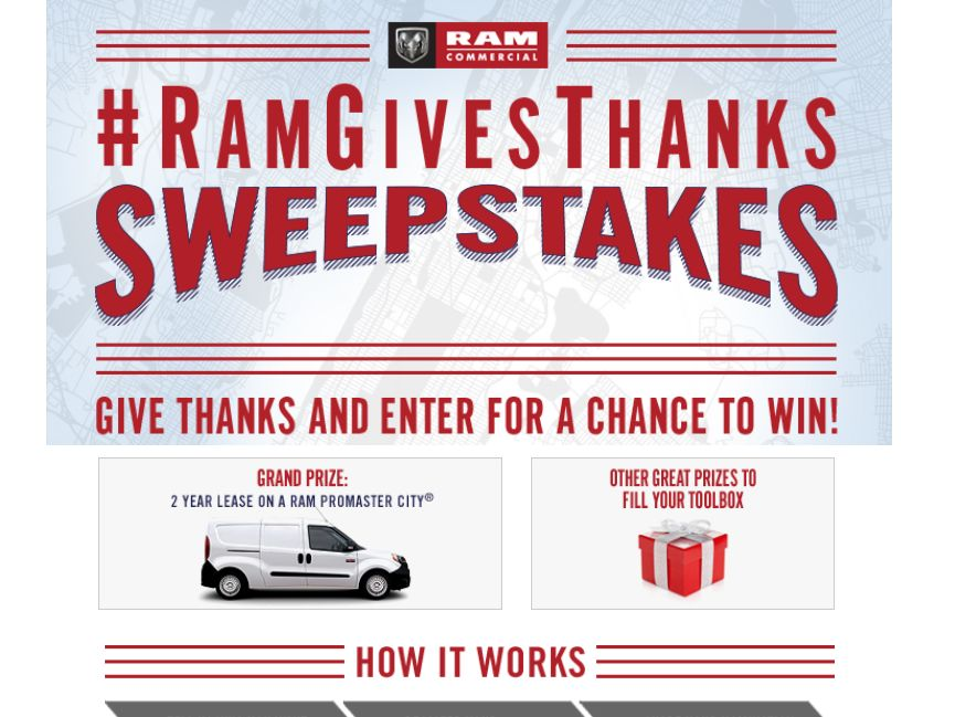 The 2015 #RamGiveThanks Promotion