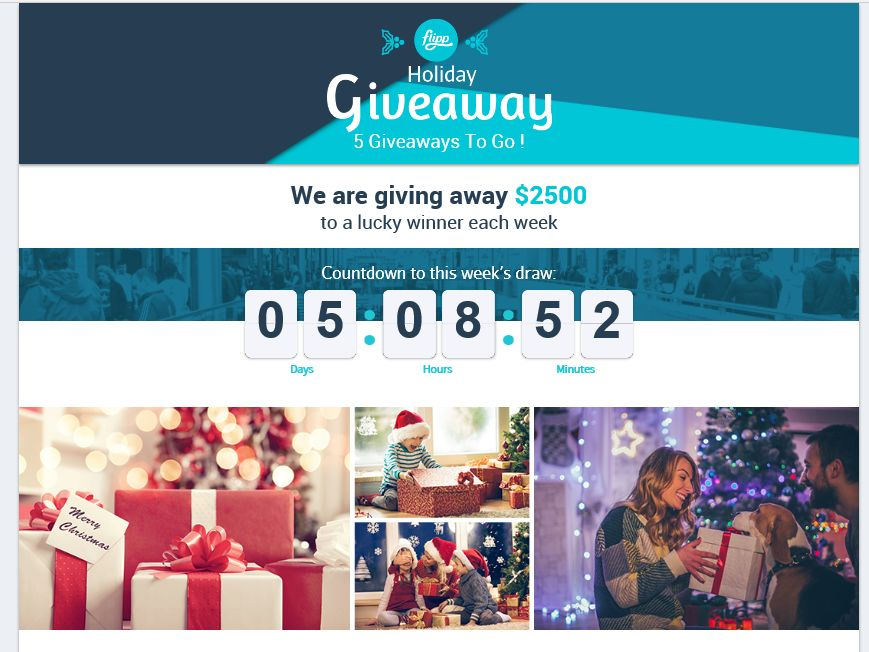 Flipp Holiday Shopping Spree Giveaway Sweepstakes