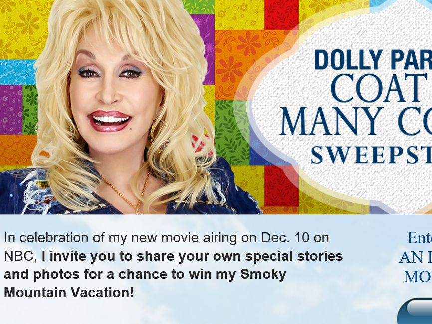 The Dolly Parton's Coat of Many Colors Sweepstakes