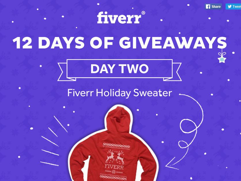 Fiverr Sweepstakes