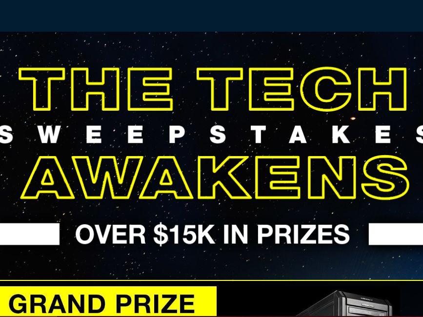 Newegg the tech awakens sweepstakes