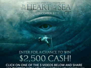 The In the Heart of the Sea Sweepstakes