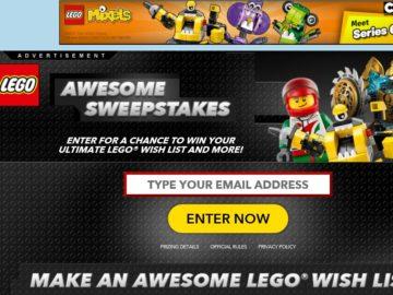 The LEGO Multi-Brand Sweepstakes