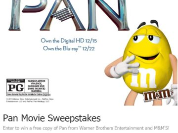 MARS Chocolate North America M&M's Pan Sweepstakes