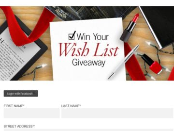 "The ""Signature by Levi Strauss & Co. Win Your Wish List Giveaway"" Sweepstakes"