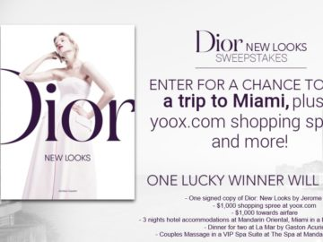 Dior New Looks Sweepstakes