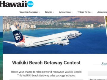 Hawaii.com Waikiki Beach Getaway Contest