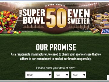 The Mars Chocolate Make Super Bowl 50 Even Sweeter Sweepstakes