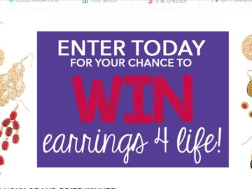 Claire's Earrings 4 Life Sweepstakes