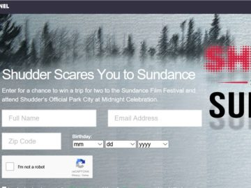 Kernel Digital Store's Shudder at Midnight Party Sweepstakes