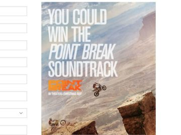 The Tilly's Point Break | Warner Bros. Soundtrack Sweepstakes