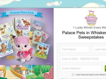 Disney Publishing Worldwide's Palace Pets in Whisker Haven Sweepstakes