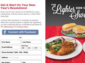 The Boston Market Lighter Side of Home Style Sweepstakes