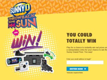The Throwback Some Sun Instant Win Game and Sweepstakes