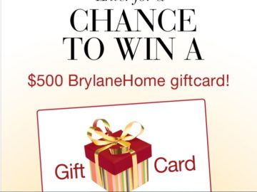 BrylaneHome Gift Card Giveaway Sweepstakes