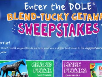 Dole Blend-Tucky Getaway Sweepstakes