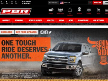 "The 2016 Built Ford Tough (""BFT"") Behind The Ride Sweepstakes"