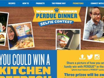The Winner Winner Perdue Dinner Selfie Contest