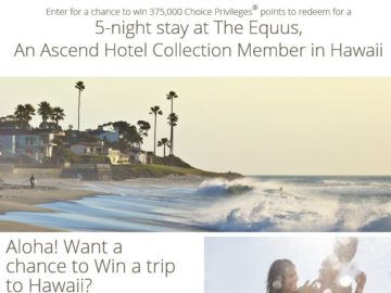 Hotels Choice Privileges Hawaii Sweepstakes