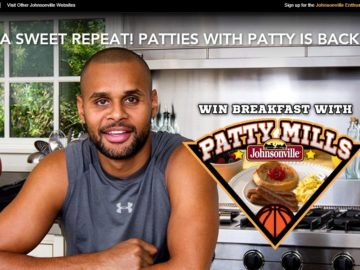 "Johnsonville ""Patties With Patty"" Sweepstakes"