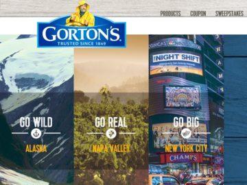 The Go Gorton's Sweepstakes