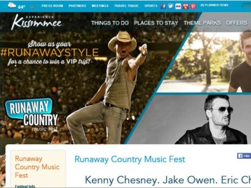 "The Experience Kissimmee ""RunawayStyle"" Runaway Country Sweepstakes"