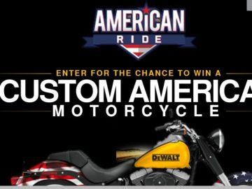 DEWALT American Ride Sweepstakes