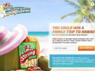 """The Saputo Cheese USA Inc. """"Frigo Cheese Heads Take a String Break"""" Promotion"""