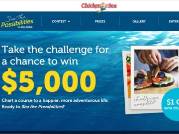 "Chicken of the Sea International ""Sea the Possibilities Challenge"" Sweepstakes"