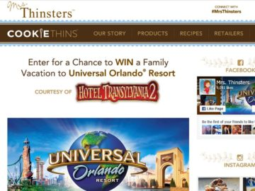 The Mrs. Thinsters Sweepstakes
