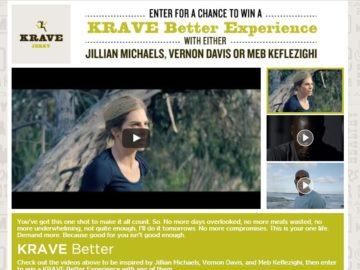 The KRAVE Better Contest