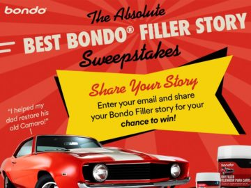 The Absolute Best Bondo Filler Story Ever Contest