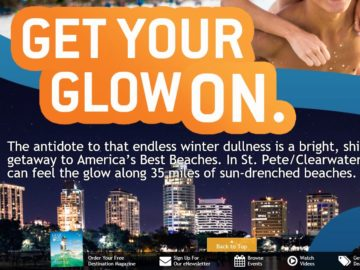 """The St. Petersburg Clearwater """"Get Your Glow On"""" Sweepstakes"""