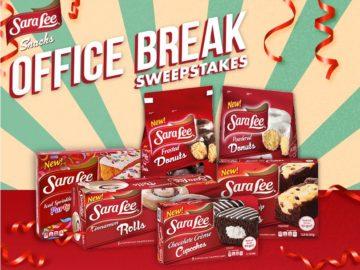 Sara Lee Snacks Office Break Sweepstakes