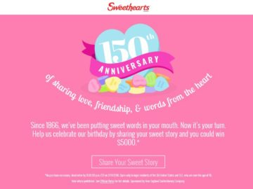 Sweethearts Share Your Sweet Story Contest