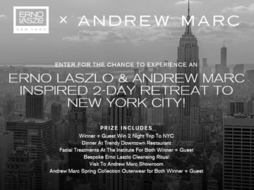 The Erno Laszlo & Andrew Marc NYC Inspired Sweepstakes