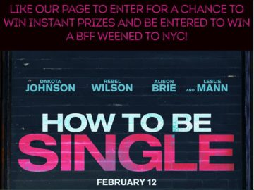 The Coffee Beanery's How to Be Single Facebook Sweepstakes