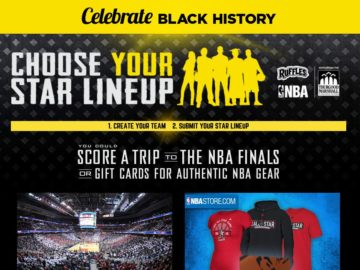 Celebrate Black History Sweepstakes