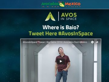 """Avocados From Mexico """"Avos in Space"""" Sweepstakes"""