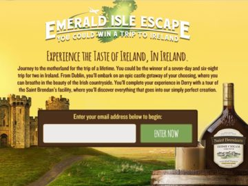 The Saint Brendan's Emerald Isle Escape Sweepstakes